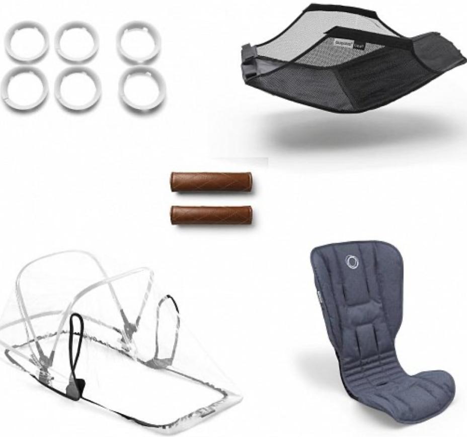 Комплект для коляски Bugaboo 500230BM01 Blue Melange