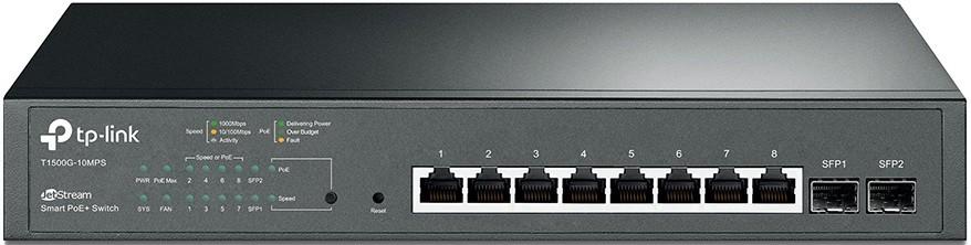 Коммутатор TP-Link T1500G-10MPS