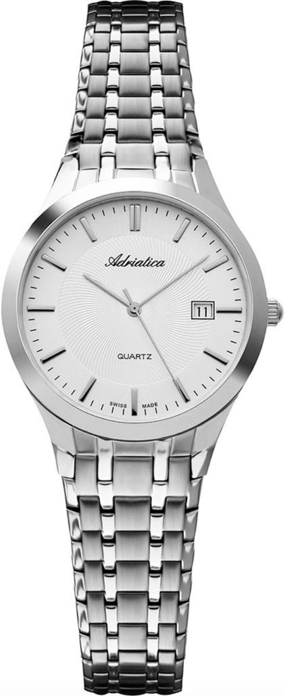 Наручные часы Adriatica Bracelet A3136 серебристый/стальной