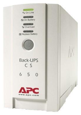 APC Back-UPS CS 650VA White