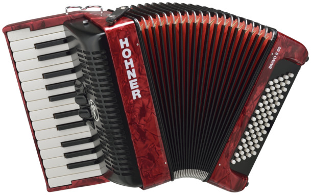 Аккордеон Hohner The New Bravo II 60 Red