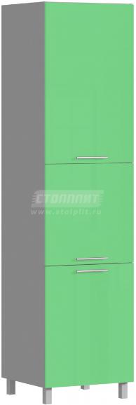 Пенал Столплит Анна 301-360-360-0996 алюминий/эвкалипт 60x237x56 см