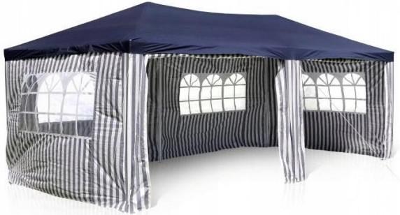 Шатер Афина-Мебель AFM-1015C голубой/белый