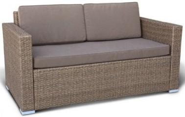 Диван Афина-Мебель S52B-W56 светлый коричневый