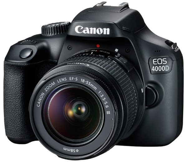 Фотоаппарат Canon EOS 4000D Kit EF-S 18…
