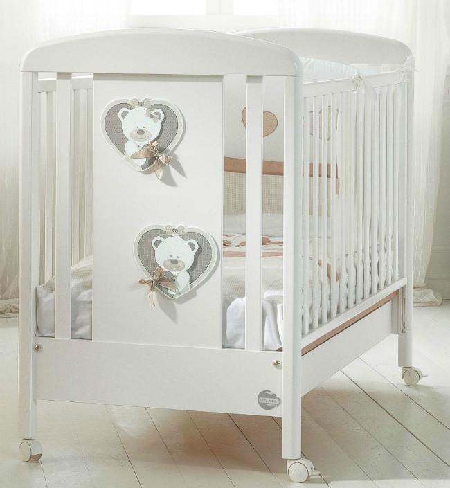 Кроватка Baby Expert Bon Bon Duetto бел…