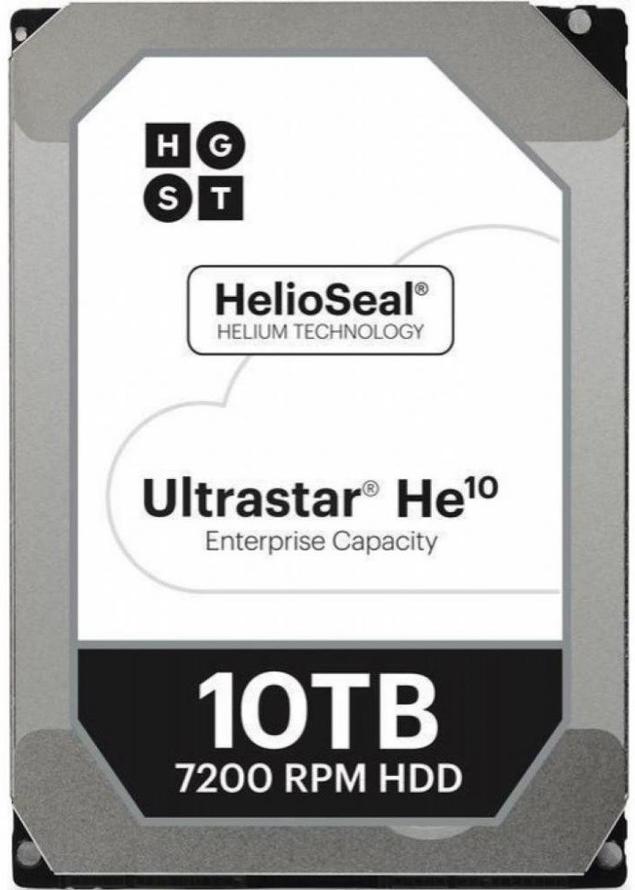 "Жесткий диск HGST Ultrastar He10 10Tb/HDD/3.5""/SAS"