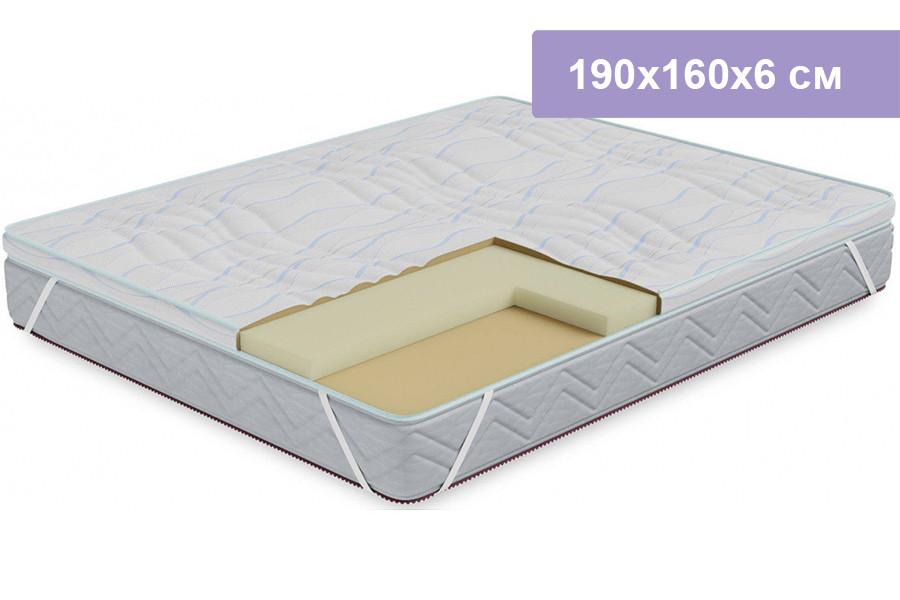 Наматрасник Столплит Соник-Латекс 190x160x6 см