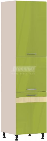 Пенал Столплит Регина 331-360-360-5368 песочный/оливковый 60x237x56 см