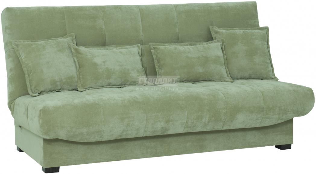Диван-кровать Столплит Аккорд БД зеленый 192x100x95 см
