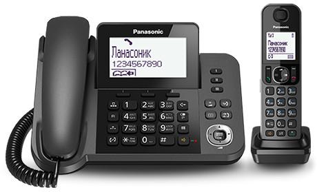 Радиотелефон Panasonic KX-TGF310 Black