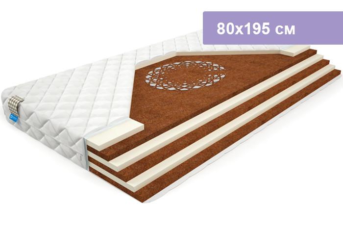 Матрас Mr.Mattress BioCrystal Sandwich L 80х195 см