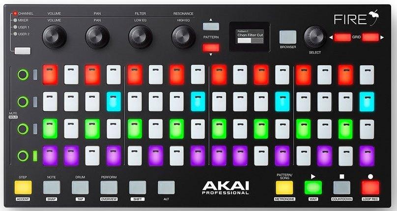 Dj-контроллер Akai Fire