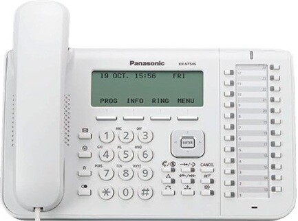 IP-телефон Panasonic KX NT546 White