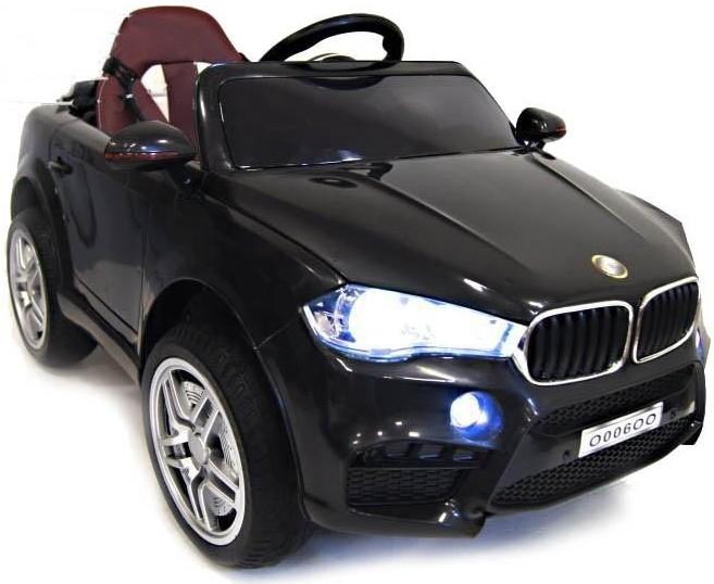 Электромобиль RiverToys BMW O006OO Black