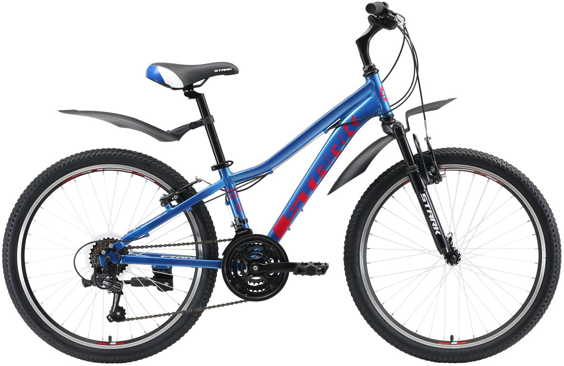 Велосипед Stark Bliss 24.1 V (2019) син…