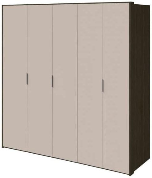Шкаф Интердизайн Тоскано ясень темный/капучино 2209x2320x599 см