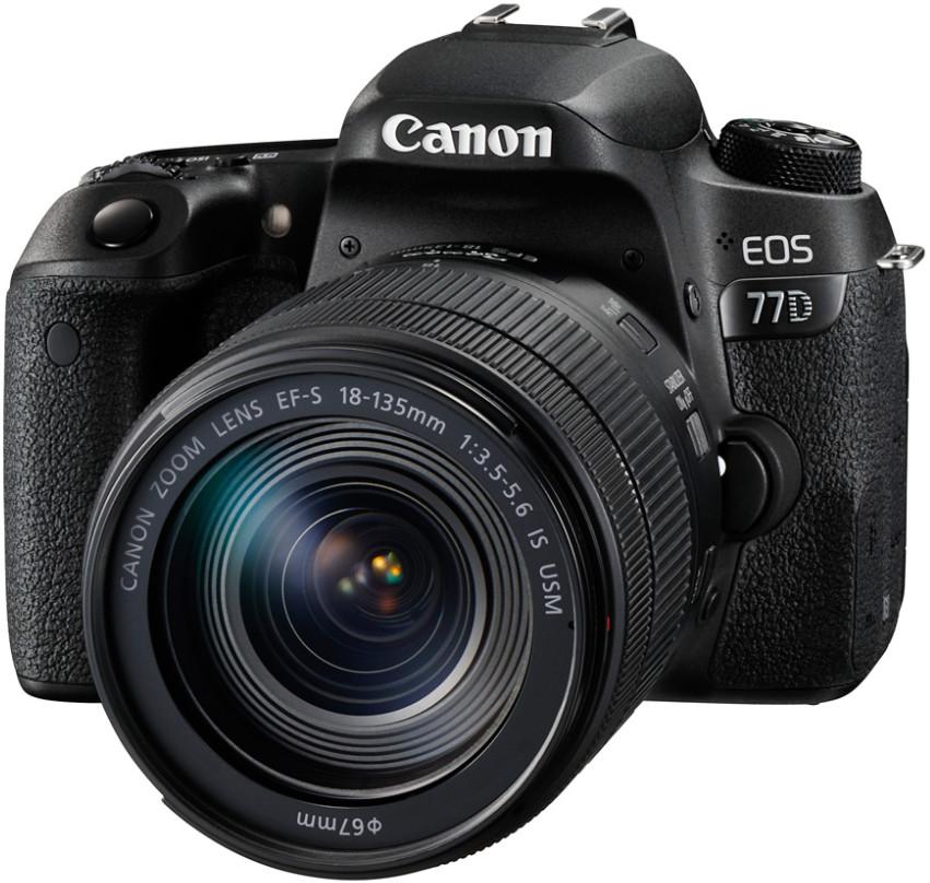 Фотоаппарат Canon EOS 77D Kit EF-S 18-1…