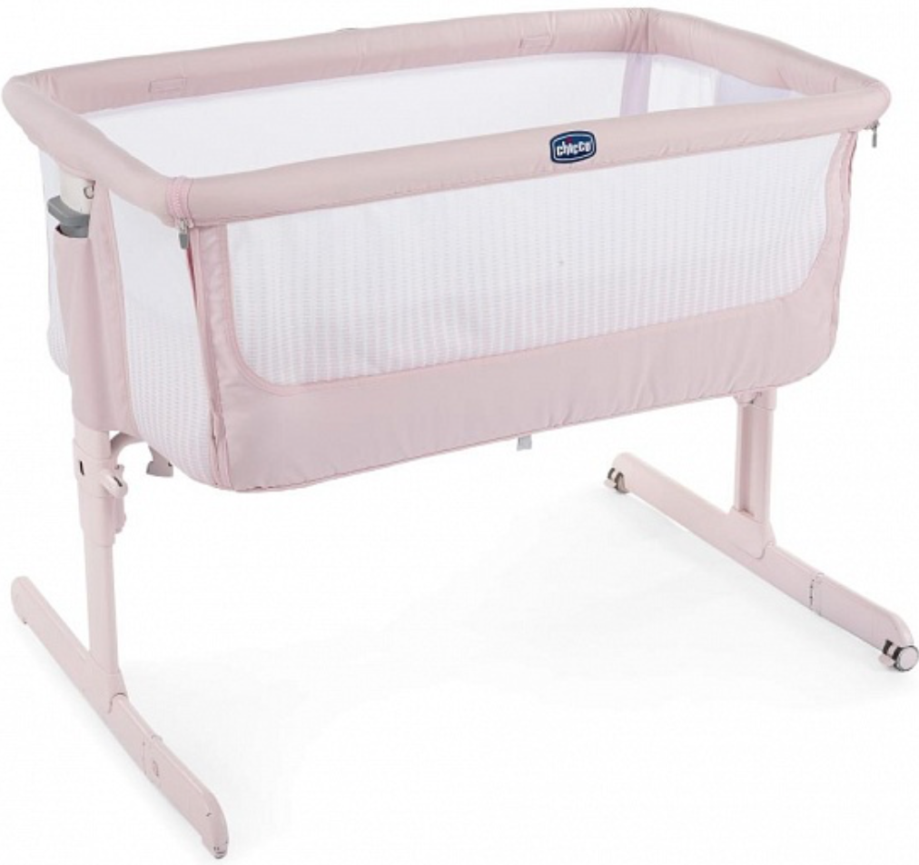 Кроватка Chicco Next2Me Air Paradise Pink