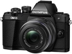 Фотоаппарат Olympus OM-D E-M10 Mark II Kit 14-42mm f/3.5-5.6 II R Black
