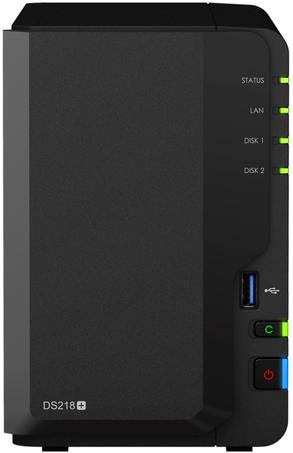 Сетевое хранилище Synology DiskStation DS218+