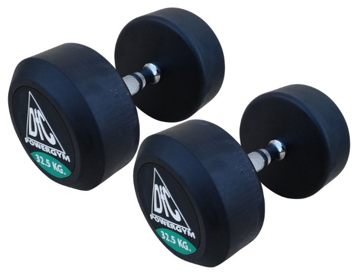 DFC Powergym DB002-32.5 пара по 32,5 кг