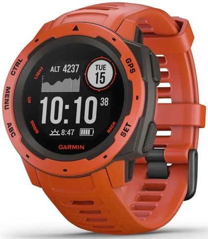Умные часы Garmin Instinct Flame Red