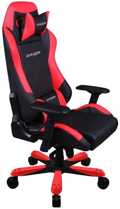 Игровое кресло DXRacer OH/IS11/NR черный/красный