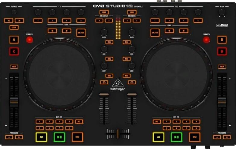 Dj-контроллер Behringer CMD Studio 4A-EU
