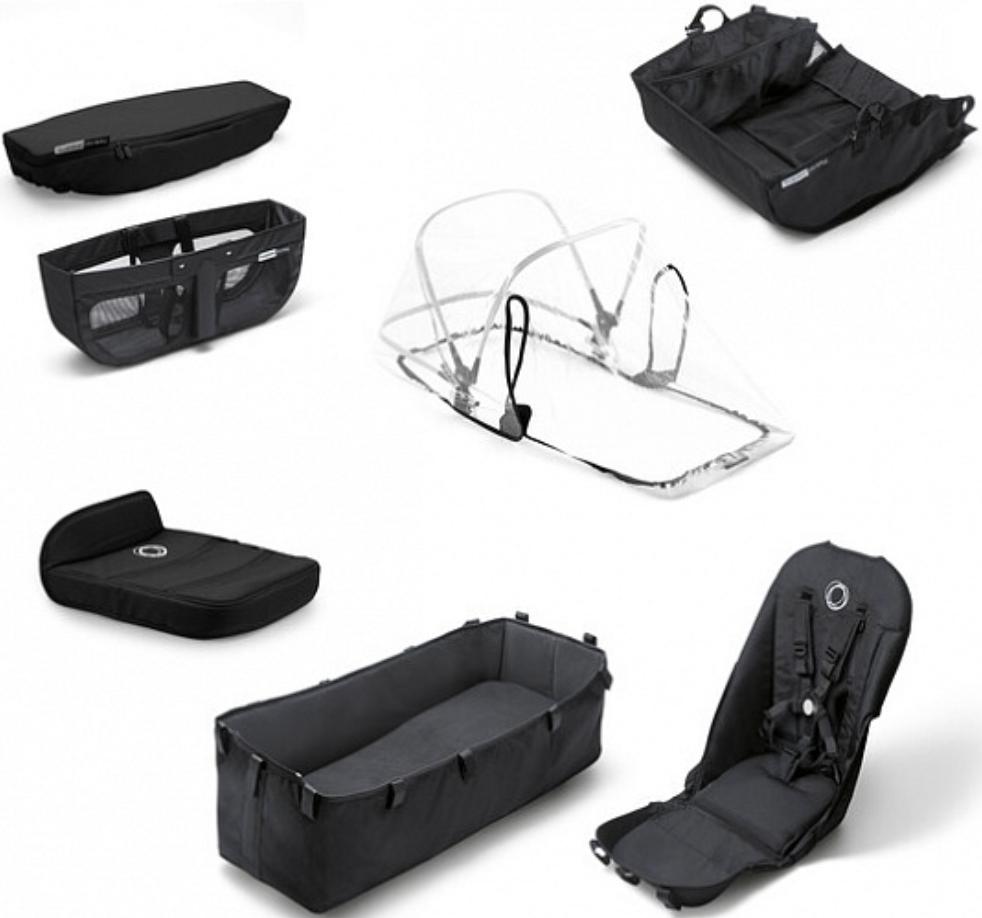 Комплект для коляски Bugaboo 180121ZW01 Black