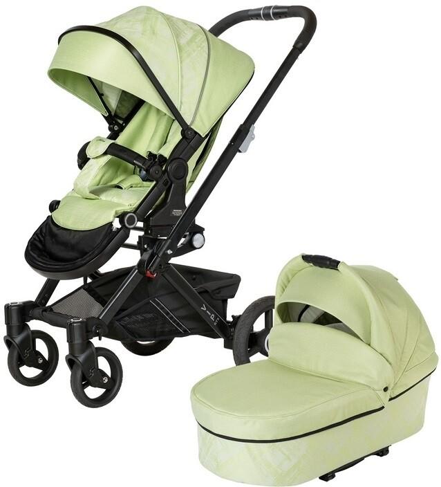 Коляска Hartan VIP GTX XL 517 2в1 Green (без сумки)