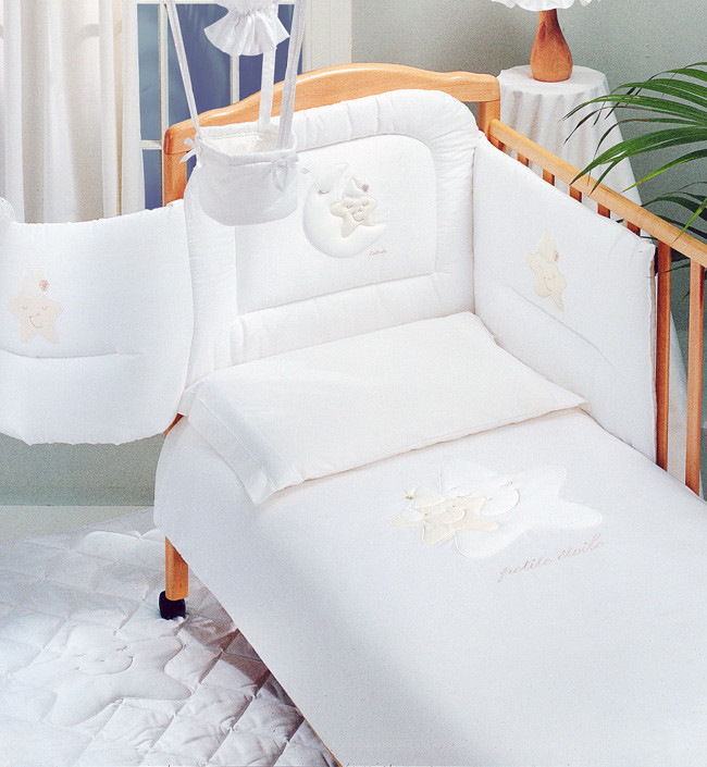 Постельное белье Italbaby Petite Etoile белый
