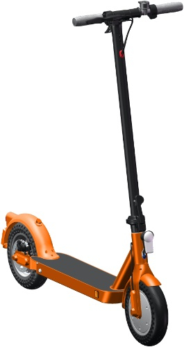 Электросамокат iconBIT Kick Scooter City Pro Orange