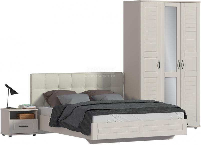 Спальня Столплит Сити 129-462-938-2942 бежевый песок/кофе