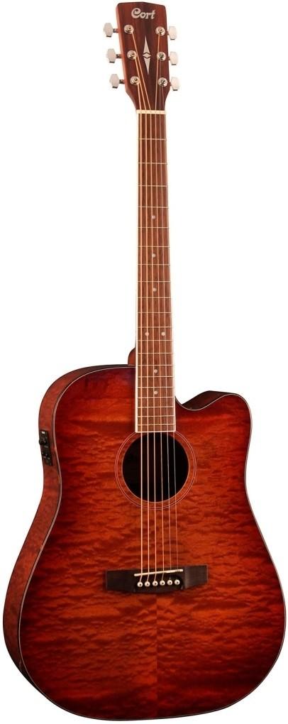 Акустическая гитара Cort AD890MBCF-NAT …