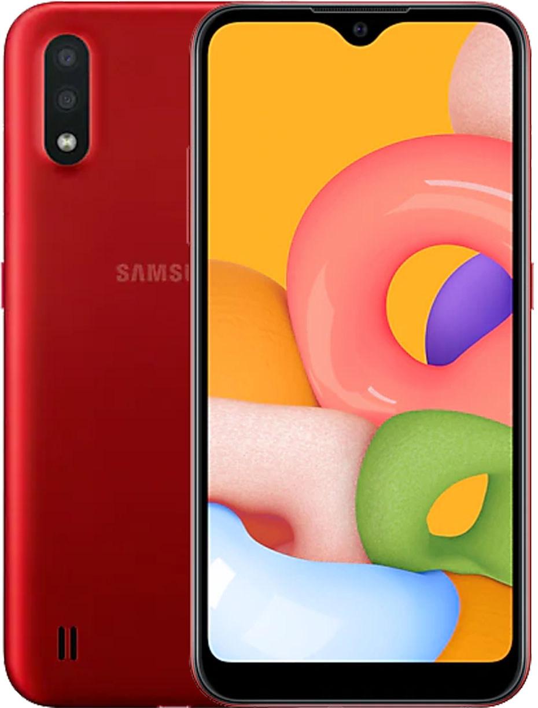 Смартфон Samsung Galaxy A01 LTE 2Gb 16Gb Red