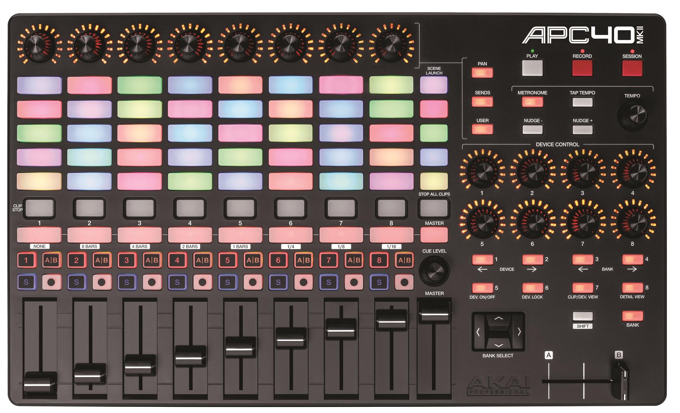 Dj-контроллер Akai APC 40 II USB