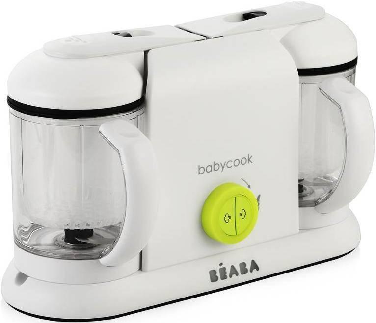 Блендер-пароварка Beaba BabyCook Plus Neon EU White