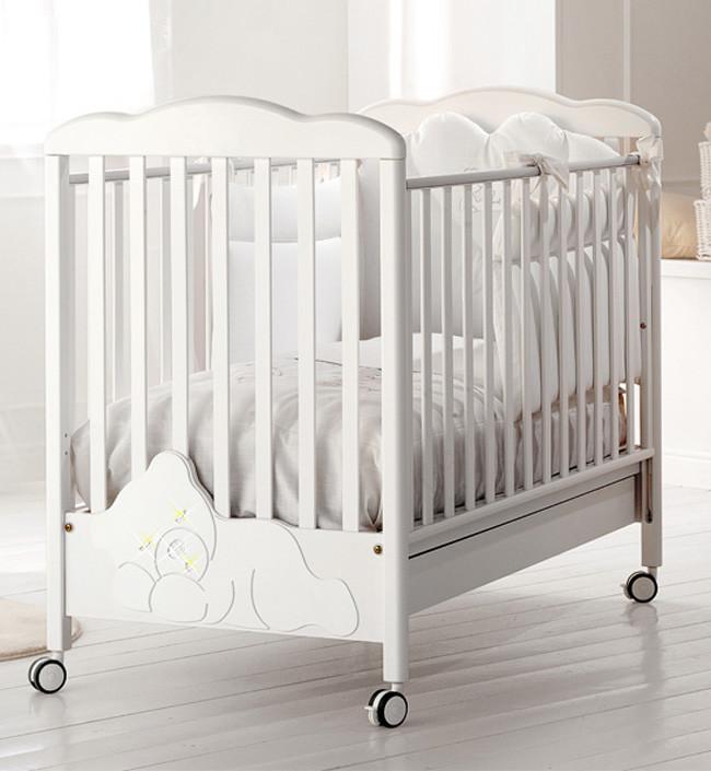 Кроватка Baby Expert Coccolo Lux белый …