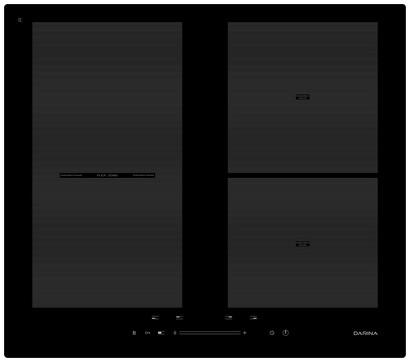 Варочная панель Darina 5P9 EI304 B