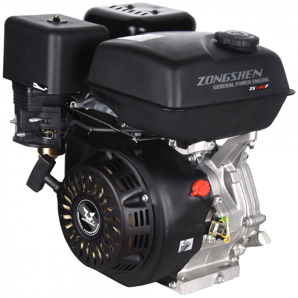 Двигатель Zongshen ZS188F (с катушкой 12В, 13 л.с.)