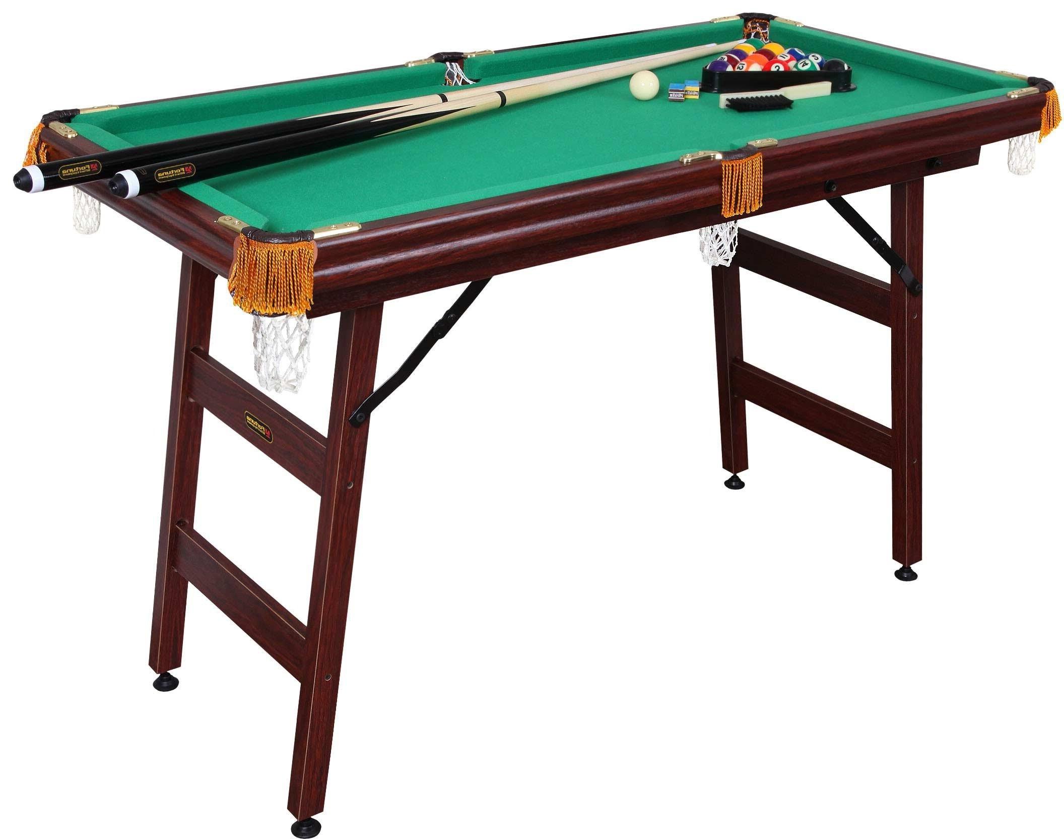 Бильярдный стол Fortuna Пул 4FT 9в1