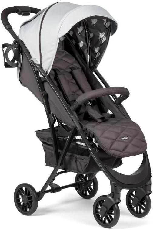 Коляска Happy Baby Eleganza V2 Light Grey