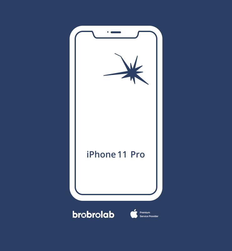 Замена экрана iPhone 11 Pro в авторизованном сервисном центре Apple