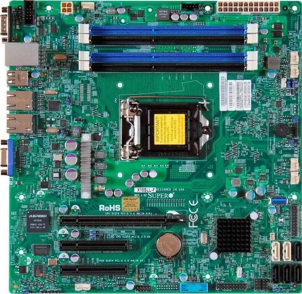 Материнская плата Supermicro X10SLL-F LGA 1150
