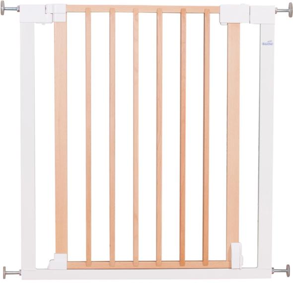 Ворота безопасности Geuther Vario Safe натуральные/белые