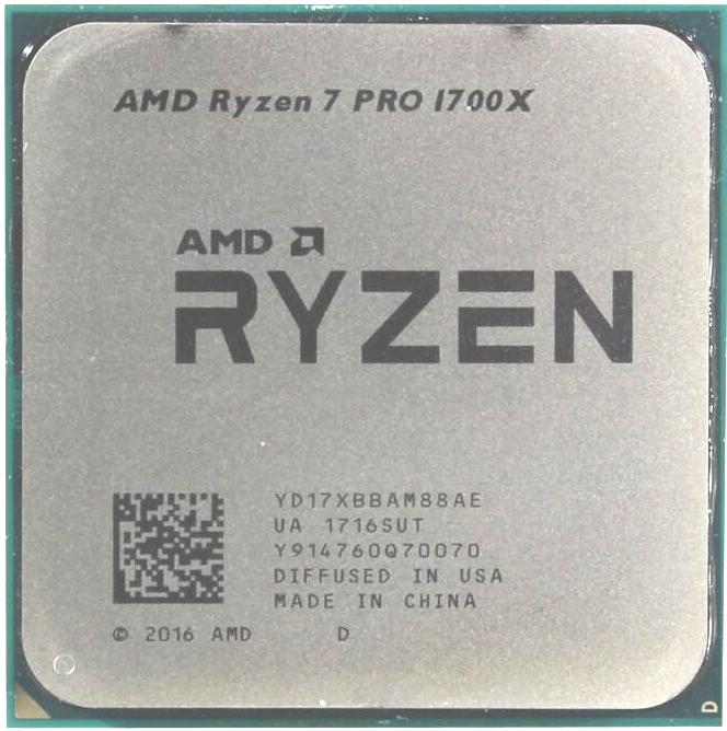 Процессор (CPU) AMD Ryzen 7 Pro 1700X 3.4GHz OEM