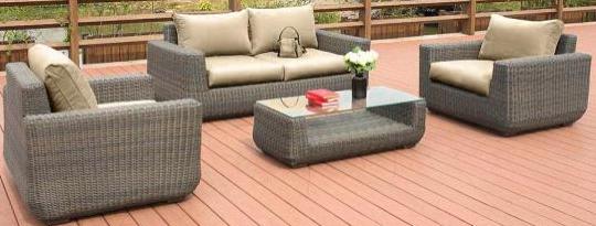 Комплект мебели Афина-Мебель AFM-4018B серый
