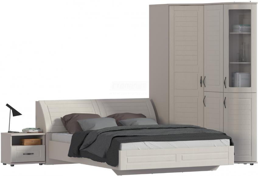 Спальня Столплит Сити 129-232-832-4647 бежевый песок/кофе