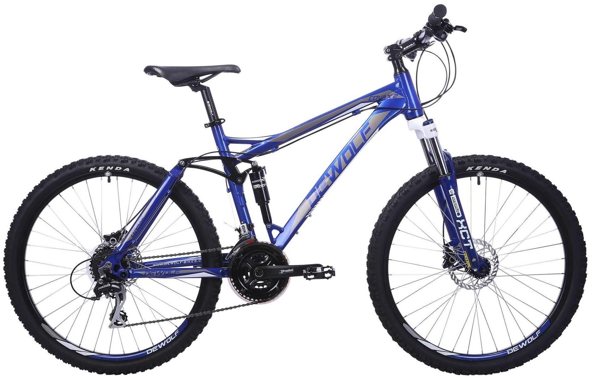 "Велосипед Dewolf Covax 2 серый/синий 26"""